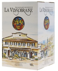 AOC COTES DU RHONE BLANC - bag in box 10 L